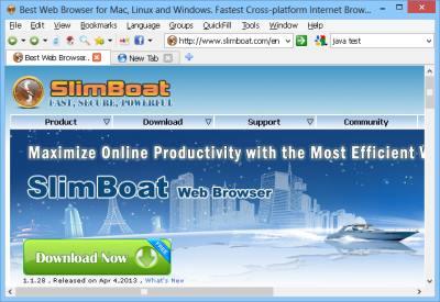 Slim Boat Web Browser