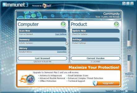 Immunet 3 Free Antivirus