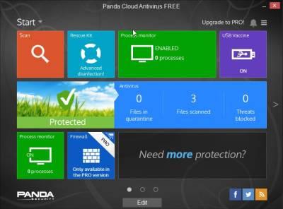 Panda Cloud Antivirus 3