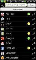 Keyword Launcher Android