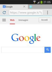 Now Browser for Google Android
