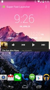 Super Fast Launcher for Google Android