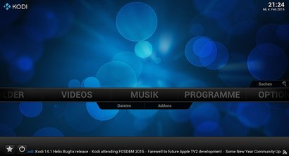 Kodi Media Center free Home Theater software