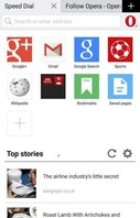 Opera Mini Web Browser for Google Android