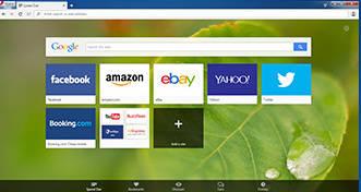 Opera Desktop Web Browser