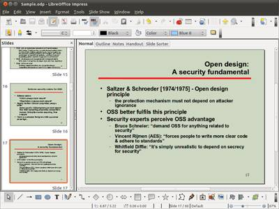 LibreOffice Impress Slideshow Multimedia Presentation office suite