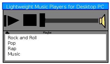 Lightweight Music Player Windows Linux Operating Systems