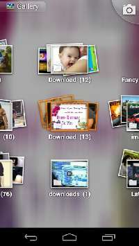 AppGalaxy Gallery App for Google Android