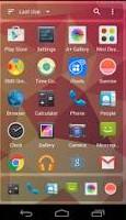 Mini Homescreen desktop Google Android