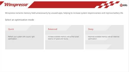 iolo Winspresso Ram Optimizer For Windows 8 10